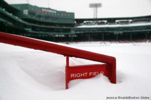 boston snow fenway park